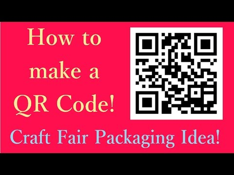 How to make a QR code and impress your friends!