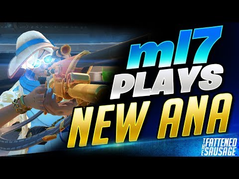 #1 Ana ml7 Makes NEW BUFFED ANA Look BROKEN! New Ana Gameplay