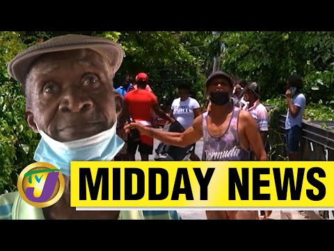 Protest in Westmoreland   Man Believed to Be Dead Shows Up   TVJ Midday News - June 11 2021