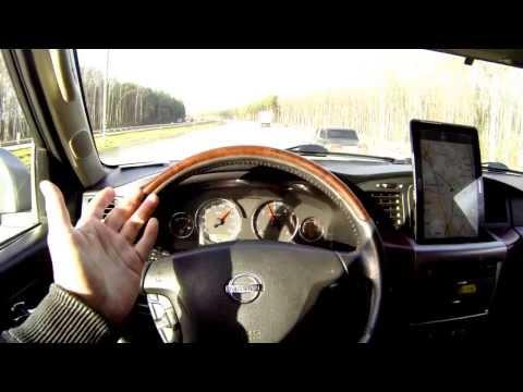 Nissan Patrol Wheel 35 speedtest 140 km h Ниссан Патрол 35 колёса, тест на скорость 140 км ч