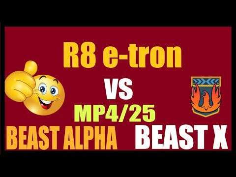 Asphalt 8 why is R8 e-tron so POWERFUL in MP then??