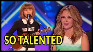 10 *MOST TALENTED KIDS* Auditions Ever on America's Got Talent and Britain's Got Talent!