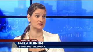Business Lunch: Super Bowl scams