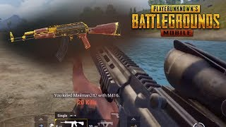 FIRST PERSON DOMINATION!! PUBG Mobile Update Stream (Tencent Gaming Buddy)