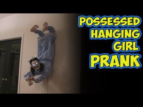 Possessed Hanging Girl Prank