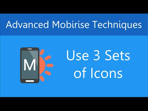 Replace Glyphicons with New Icons in Mobirise