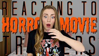 Reacting To Horror Movie Trailers 7 | Kirstie Bryce
