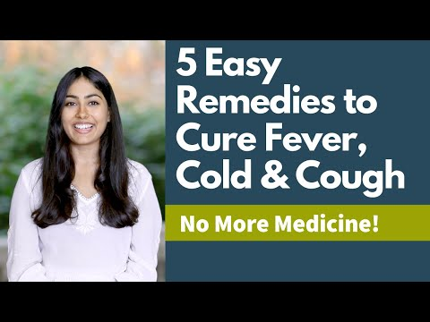 5 Easy Remedies To Cure Fever, Cold & Cough   Subah Jain   Satvic Movement