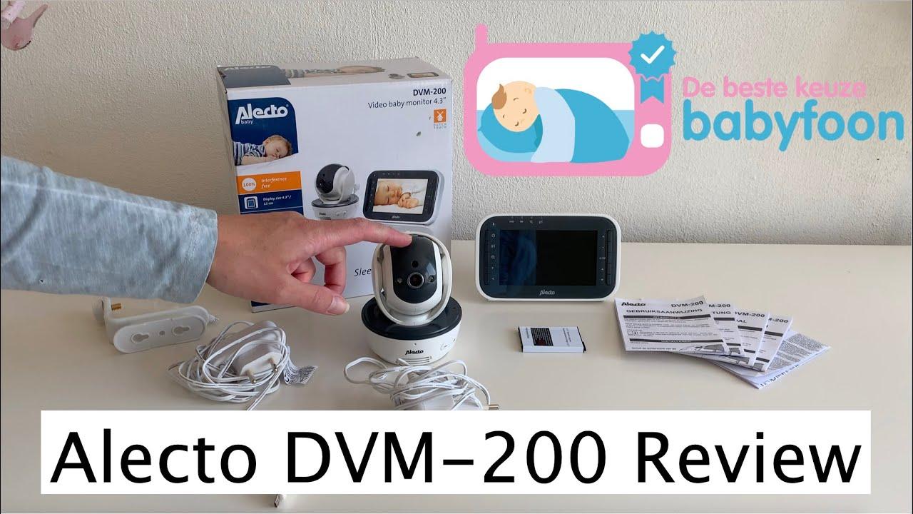 Video Review Alecto DVM-200 door Bestekeuzebabyfoon nl
