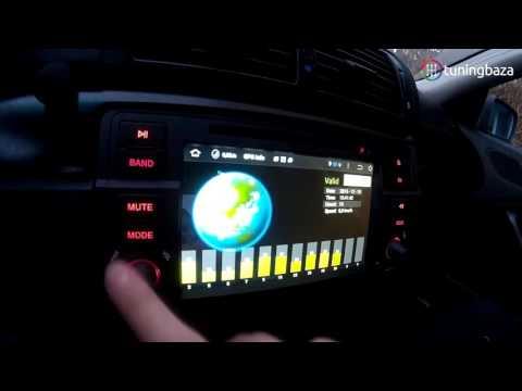 BMW E46 RADIO ANDROID 4.4.4 TUNINGBAZA TEST