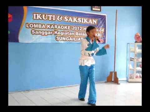 Angga , lomba karaoke SKB Sungailiat 2012