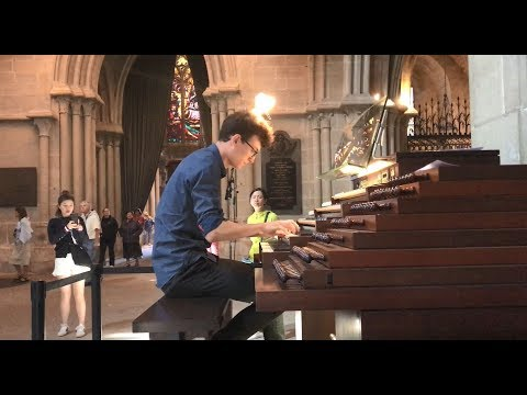An Impromptu Musical Moment in Lausanne Cathedral