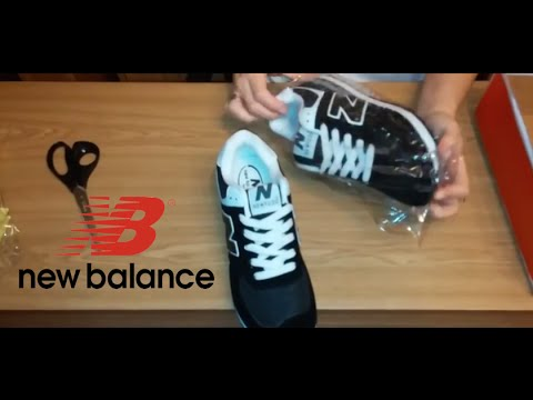Кроссовки женские New Balance 574 бордовые - YouTube