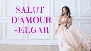 Edward Elgar - Salute D'Amour for Clarinet in Bb and Piano