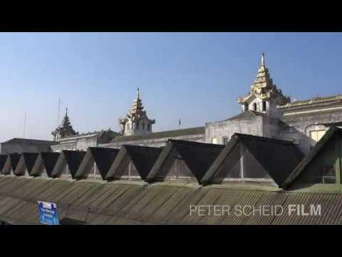Yangon Central Railway Station - Trailer