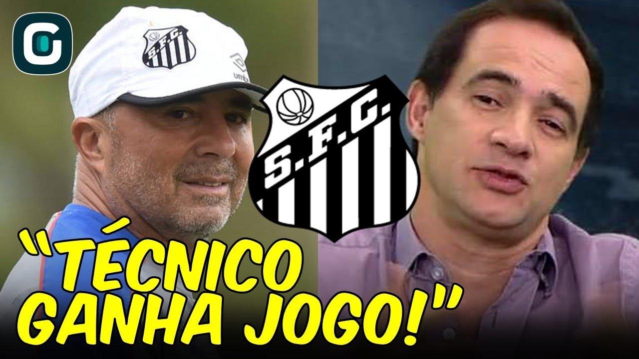 """Santos X Novorizontino Hd: """"Técnico GANHA JOGO, Sim!"""", Diz"""