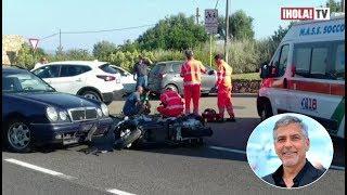 George Clooney sufre accidente y heridas leves en Cerdeña, Italia | ¡HOLA! TV