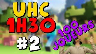UHC 1h30 #2 | 100 TARDOS EN UHC | ♦MINECRAFT-PVP♦
