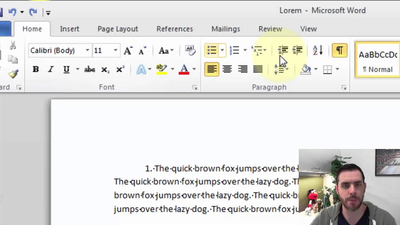 How to Remove Section Breaks in a Word Document - YouTube