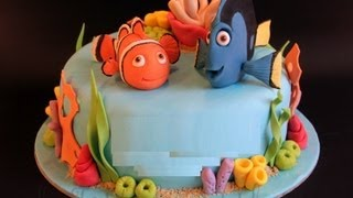 Torta Nemo,TORTA di COMPLEANNO FACILE