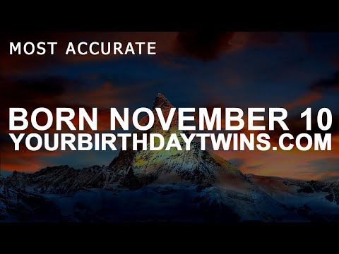 Born on November 10 | Birthday | #aboutyourbirthday | Sample