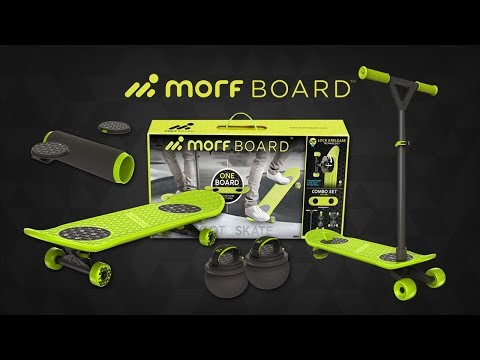 SKATE, SCOOT, BOUNCE, & MORE WITH MORFBOARD! | A Toy Insider Play by Play