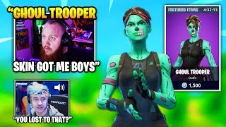 Ninja Mocks TimTheTatman For LOSING To THIS Ghoul Trooper Skin | Fortnite Daily Funny Moments Ep.371