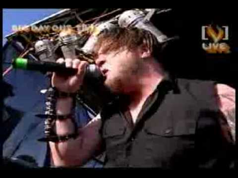 Drowning Pool-Bodies live in Australia for [V]Music Bus.flv