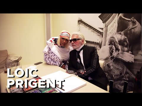KARL LAGERFELD: HIS LAST FENDI SHOW EXPLAINED! By Loic Prigent