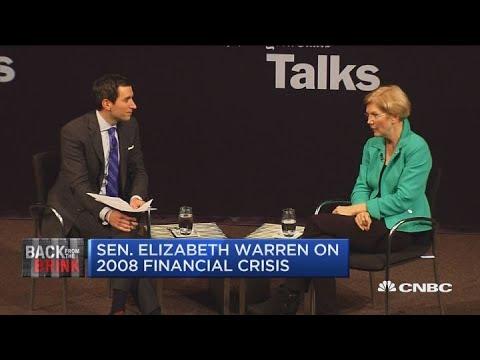 Sen. Elizabeth Warren: Goldman Sachs Gave Gary Cohn A 'pre-bribe' When He Went To Trump Admin.