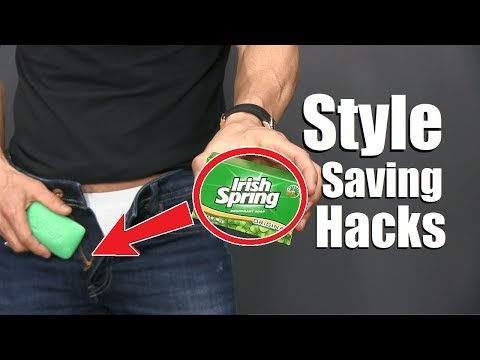 6 CRAZY Clothing Hacks EVERY Guy Should Know!