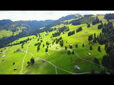 Switzerland, Montreux, Lake Geneva and Grindelwald Drone footage, Mavik Pro 4k 2017