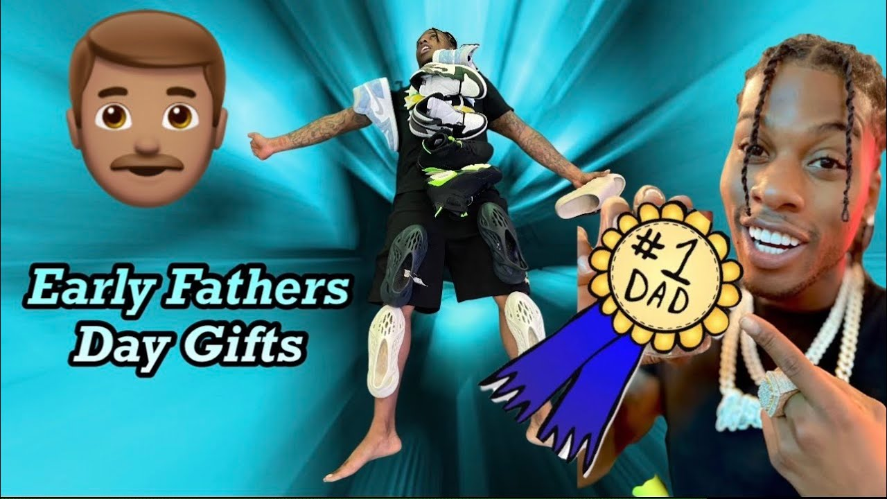 THEY GAVE ME EARLY FATHERS DAY GIFTS FOR THE FIRST TIME!!!