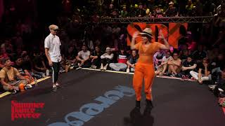 The Foxx vs Lil Jiang 2ND ROUND Locking Forever - Summer Dance Forever 2018