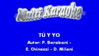 Tú y yo Emmanuel karaoke