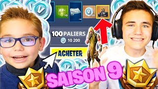 I BUY ALL THE PASS OF COMBAT SAISON 9! - FORTNITE BATTLE ROYALE - Neo The One
