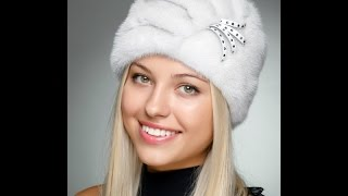 Норковые Женские Шапки - фото - 2016-2017 / Mink Women's hats - Photos(Норковые женские шапки - фото изделий вы можете посмотреть на нашем канале. Стильные и красивые головные..., 2015-12-20T21:12:39.000Z)