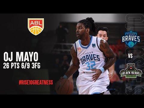 OJ Mayo With 26 Points Vs  Macau Black Bears
