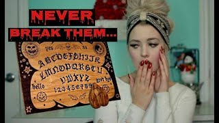 Ouija Board Rules You Can NEVER BREAK !!!