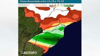 Semana de alerta para temporais no Sul