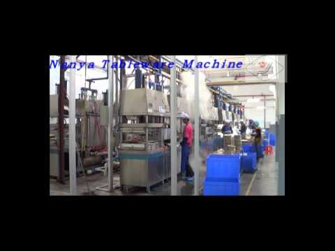 Semi Automatic Machine for Pulp Molding Paper Plate / Bowl / Tableware