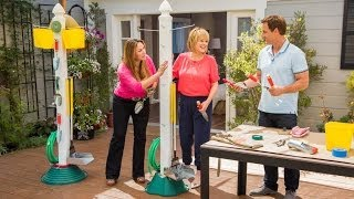 Shirley Bovshow's Simple Garden Tool Organizer