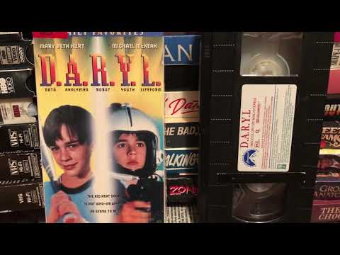 D.A.R.Y.L Movie 1985 Barret Oliver Michael McKean Mary Beth Hurt 1980's 80s Then 80s Now