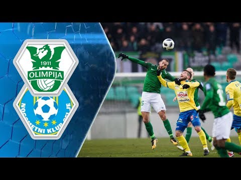 19. krog: Olimpija - Celje 2:1 ; Prva liga Telekom Slovenije
