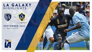 HIGHLIGHTS: LA Galaxy vs. Sporting Kansas City   September 24, 2017