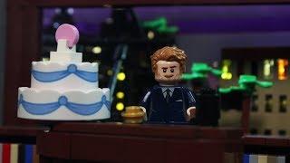 LEGO James Corden Magical Late Late Show Birthday Cake!