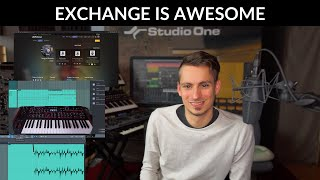 Exchange in Studio One - Next-level Presets, Sound Sets, & Features from users, for users!