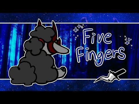 Five fingers meme (GORE WARNING!) || flipaclip