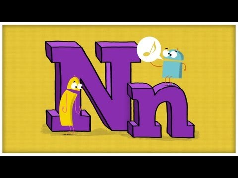 ABC Song: The Letter N,