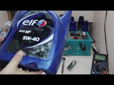 Тест №2 - Elf Evolution 900 NF 5w-40 - тест трения и обзор моторного масла